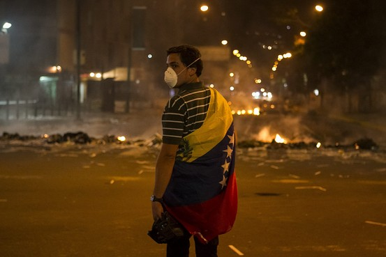 Turmoil in Venezuela is met with silence in Latin America