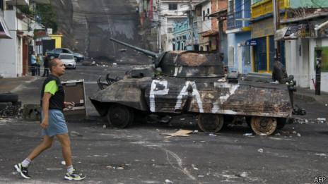 San Cristóbal, the Barricaded City of Venezuela