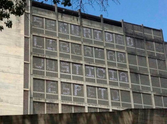 A new attack to the Architecture and Urbanism Faculty (FAU) at the Venezuelan Central University (UCV)
