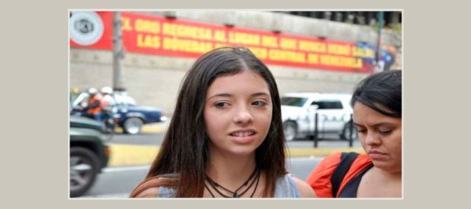 Ivana Simonovis writes a letter to the Venezuelan State