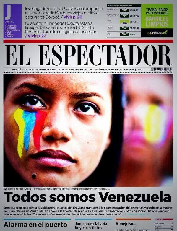 """We all are Venezuela"""