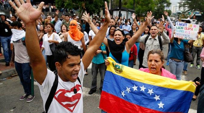 """""""En Venezuela, la violencia de Estado se ha convertido en la norma."""""""
