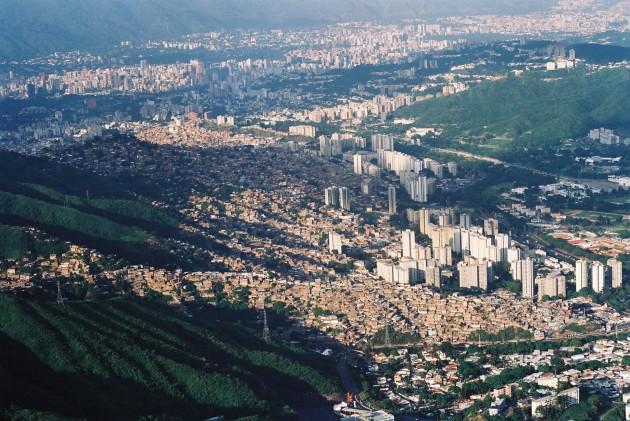 Caracas vista aérea. Por AndreínaMujica