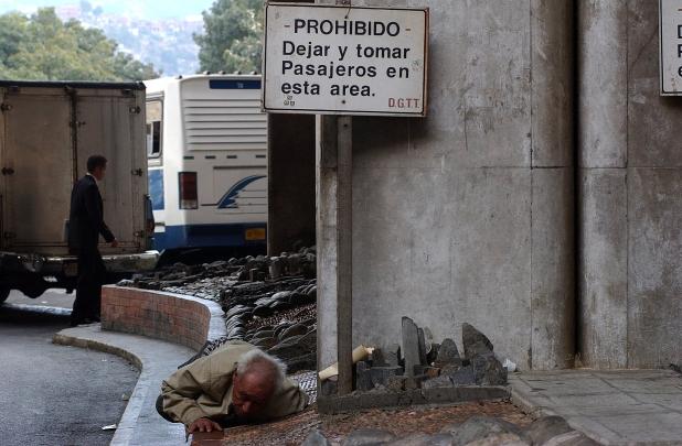 Caracas. Tercera edad Venezuela. Por AndreinaMujica